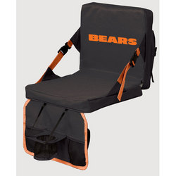Tremendous Chicago Bears Nfl Folding Stadium Seat By Northpole Ltd Ocoug Best Dining Table And Chair Ideas Images Ocougorg